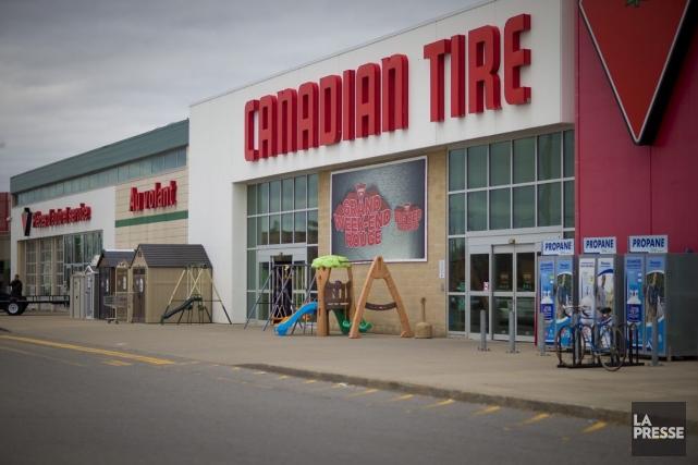 Canadian Tirene pourra croître que si elle réussit... (Photo archives La Presse)