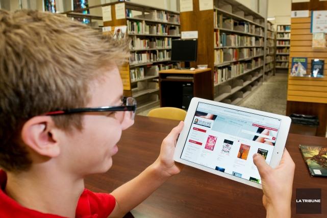 Après avoir pris le virage numérique avec l'arrivée des iPad en classe, le... (Imacom, Jessica Garneau)