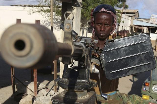 De jeunes Africains, dont des Maliens, figurent parmi les djihadistes du groupe... (Photo FEISAL OMAR, REUTERS)