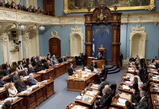 Notre tradition parlementaire, similaire au droit contradictoire de... (Photo Jacques Boissinot, La Presse Canadienne)
