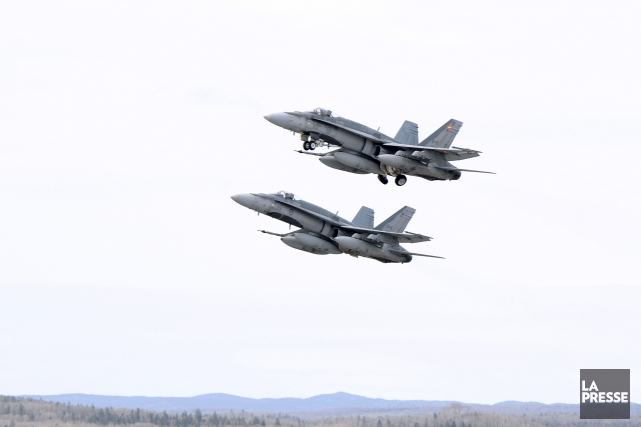 Six avions-chasseurs CF-18 seront basés au Koweït.... (Photo d'archives)