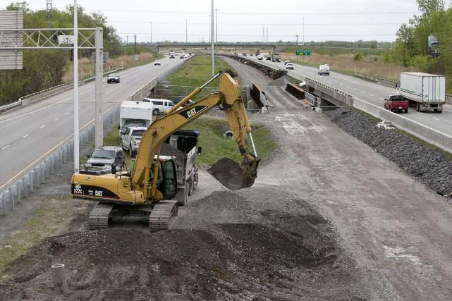 Le domaine de l'excavation fait l'objet d'une concurrence malsaine, en... (Archives, La Presse)
