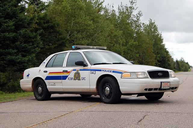 La Gendarmerie royale du Canada (GRC) poursuivait toujours ses recherches,... (PHOTO ARCHIVES LA PRESSE CANADIENNE)