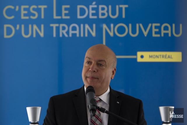 Le ministre des Transports du Québec, Robert Poëti.... (PHOTO OLIVIER JEAN, ARCHIVES LA PRESSE)