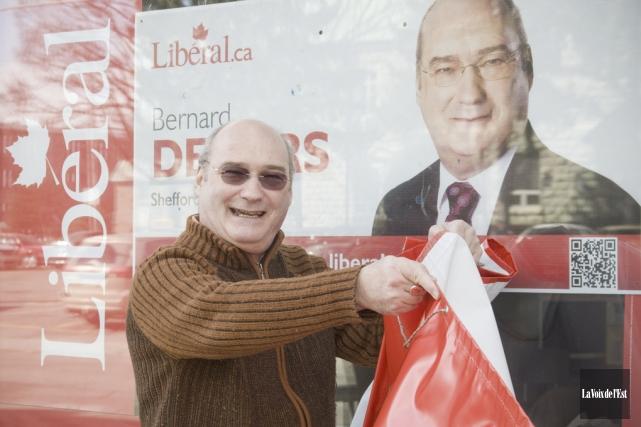 Bernard Demers a déjà représenté à deux reprises... (photo archives La Voix de l'Est)