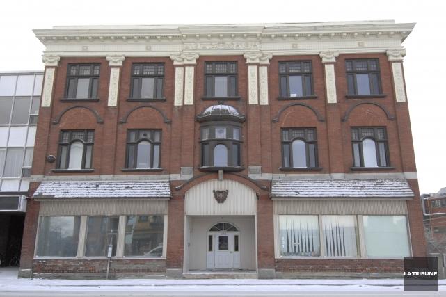 Le feu s'est déclaré dans l'ancien édifice deLa... (Archives La Tribune)
