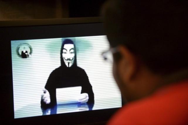 Dans des groupes comme celui d'Anonymous, les exploits... (PHOTO ROSLAN RAHMAN, AFP)