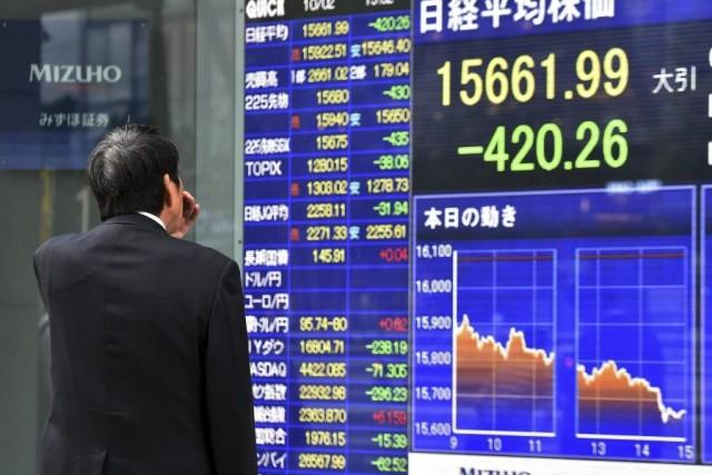 La Bourse de Tokyo a clôturé la semaine... (Photo Yoshikazu TSUNO, AFP)
