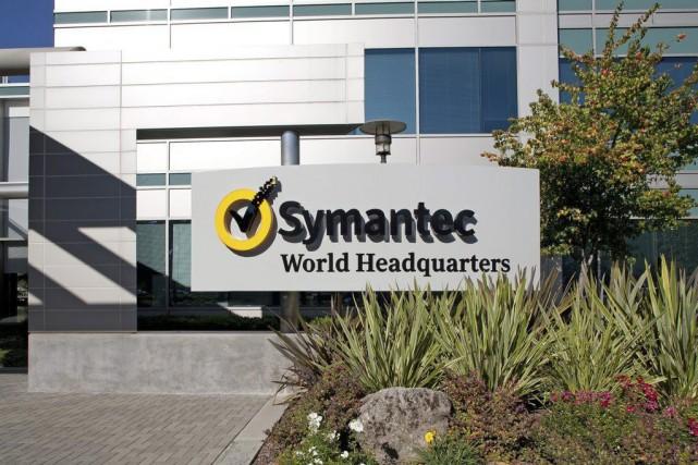 Symantec est le troisième gros groupe technologique américain... (Photo AP)