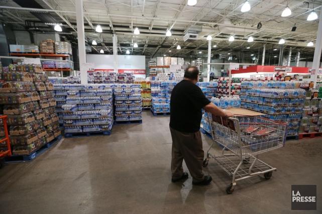 Parmi les plus gros détaillants au Canada, Costco... (PHOTO MARTIN CHAMBERLAND, ARCHIVES LA PRESSE)