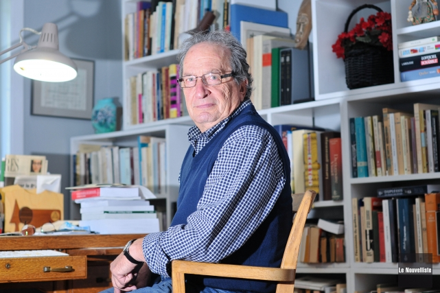René Hardy est professeur retraité en histoire à... (Photo: Émilie O'Connor Le Nouvelliste)