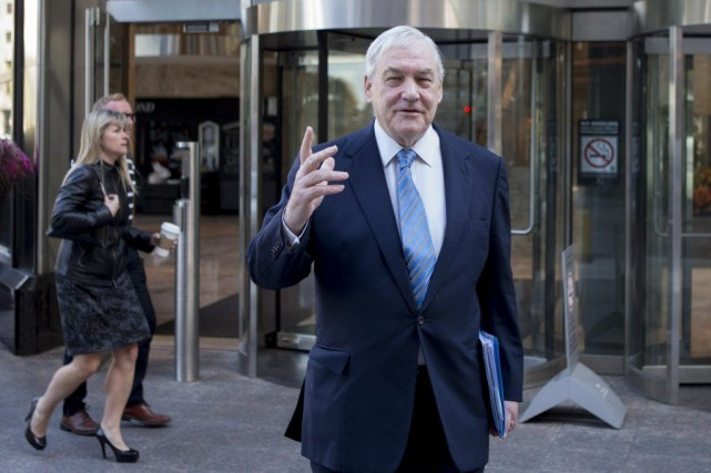 L'ancien magnat de la presse, Conrad Black.... (Photo Chris Young, PC)