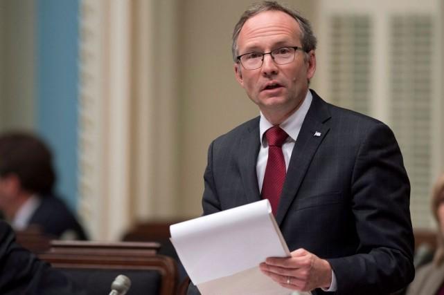 À la clé, évalue Martin Coiteux, président du... (Archives La Presse Canadienne)