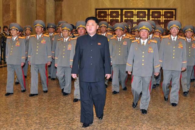 Kim Jong-un, qui serait âgé de 30 ou... (PHOTO ARCHIVES AFP/KCNA)