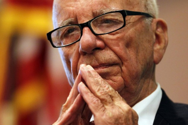 Rupert Murdoch... (Photo Jessica Rinaldi, archives Reuters)