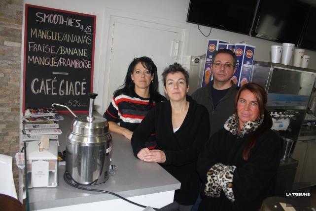 Des propriétaires de bars laitiers à Magog s'inquiètent... (La Tribune, Jean-François Gagnon)
