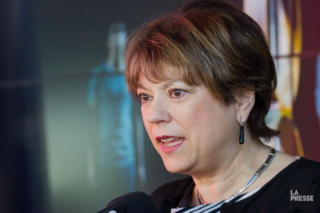 La ministre de la Culture, Hélène David.... (PHOTO ARCHIVES LA PRESSE)