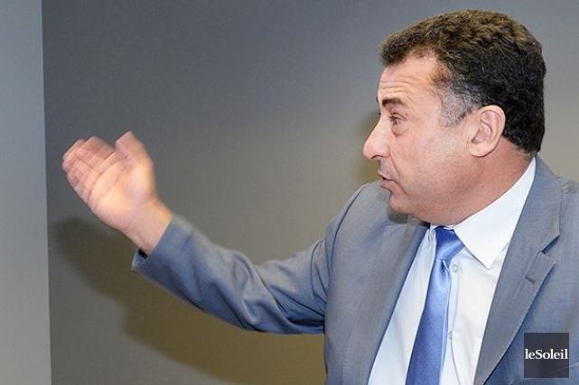 Le cofondateur et directeur général d'Informatique EBR, Mohamed... (Photothèque Le Soleil, Jean Marie Villeneuve)