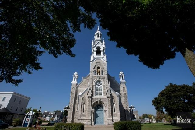 L'église de Saint-Matthieu-de-Beloeil, point de départ de cette... (Photo Olivier Jean, La Presse)