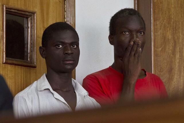 Arrêtés en janvier - avant l'entrée en vigueur... (PHOTO ISAAC KASAMANI, ARCHIVES AFP)