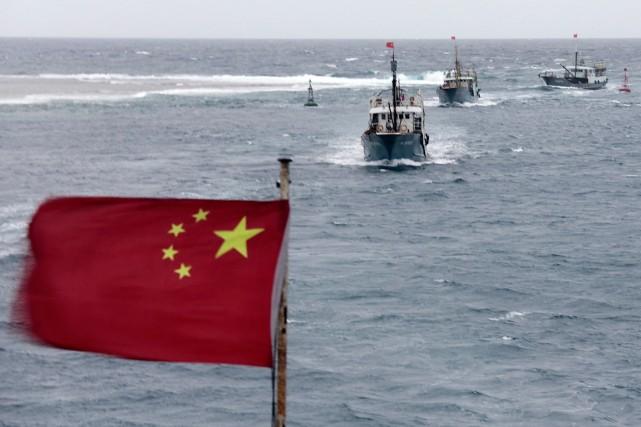 Des pêcheurs chinois font souvent des incursions illégales... (PHOTO ARCHIVES AGENCE FRANCE PRESSE)