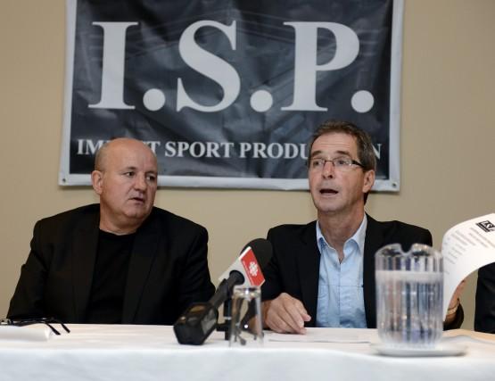 Invoquant plusieurs raisons, le groupe I.S.P. a annulé... (Jeannot Lévesque)