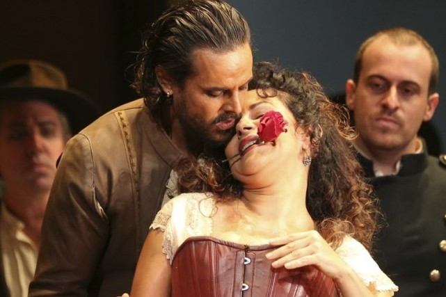 Nancy Fabiola Herrera dans Carmen à l'Opera House... (Photo: archives AP)