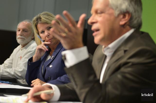 Le débat pour l'élection partielle dans Lévis oppose... (Photothèque Le Soleil, Yan Doublet)