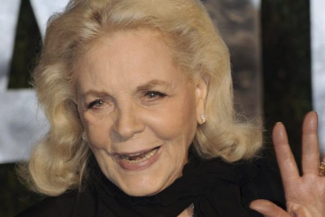 Lauren Bacall en 2010.... (Photo: archives AFP)