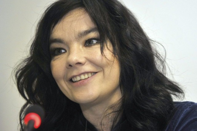 Björk... (Photo: archives AFP)