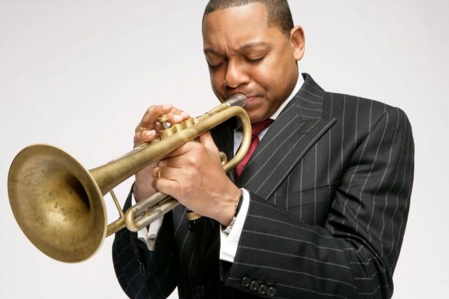 Le trompettiste Wynton Marsalis... (Photothèque Le Soleil)