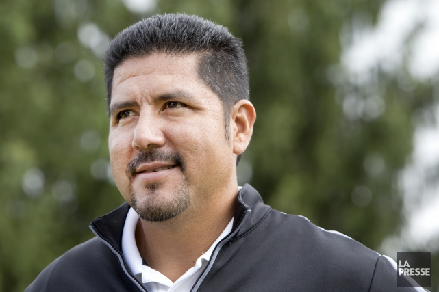 L'ancien quart vedette des Alouettes, Anthony Calvillo... (PHOTO ROBERT SKINNER, LA PRESSE)