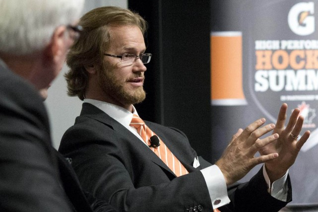 Chris Pronger a disputé 18 saisons dans la... (Photo archives La Presse Canadienne)