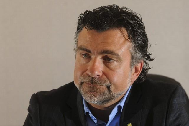 Karl Blackburn, directeur principal, Affaires publiques et relations... (Photo François Gervais)