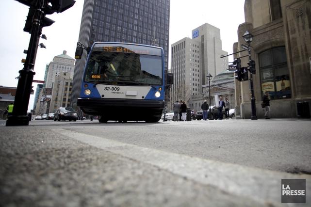 Les grandes sociétés de transport collectif du Québec,... (PHOTO SARAH MONGEAU-BIRKETT, LA PRESSE)