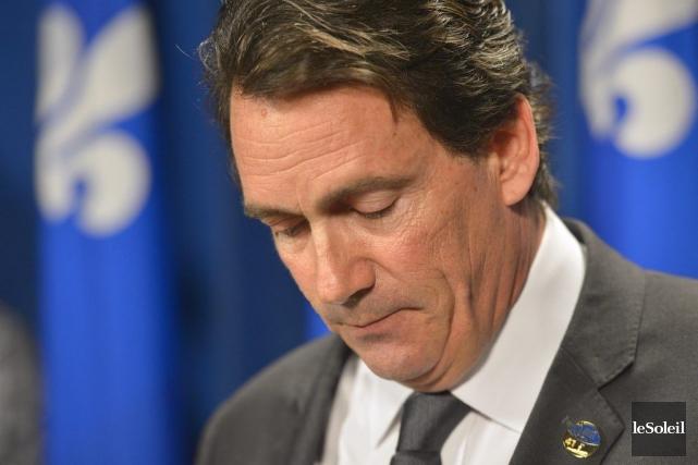 Pierre Karl Péladeau,député de Saint-Jérôme, possède 24% des... (Photothèque Le Soleil, Yan Doublet)