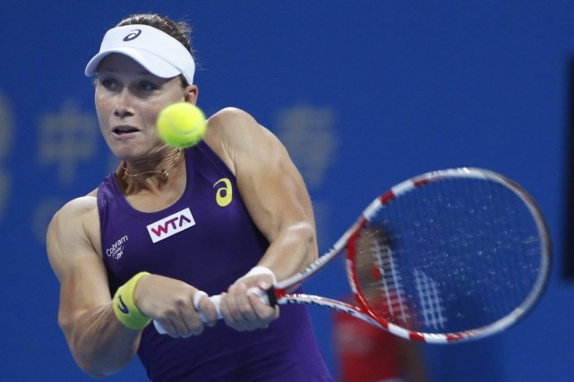 Samantha Stosur... (Photo Vincent Thian, AP)