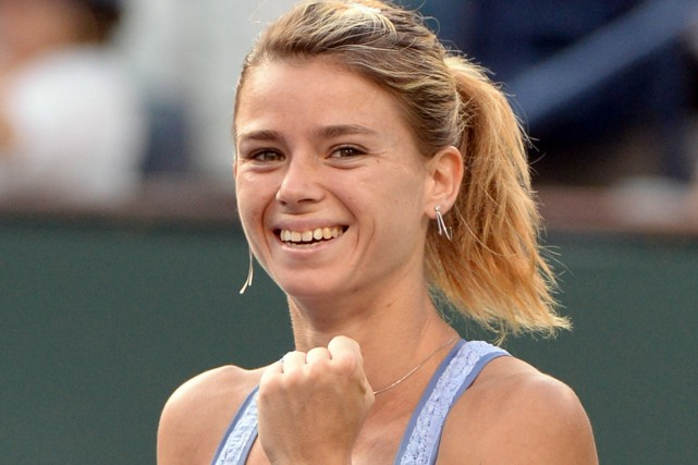 Camila Giorgi... (Photo Jayne Kamin-Oncea, USA TODAY Sports)