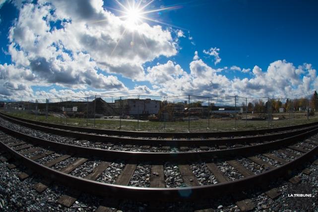 La Central Maine and Quebec Railway va terminer en octobre, avec huit mois... (IMACOM, Jessica Garneau)