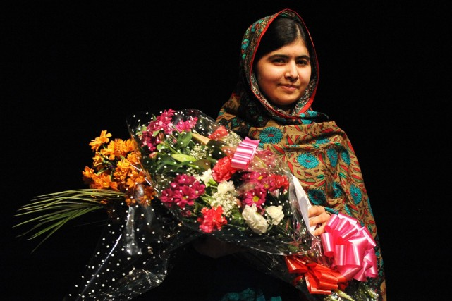 À 17 ans, Malala Yousafzaï est la plus jeune... (Photo Rui Vieira, Associated Press)