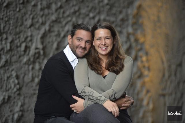 Le baryton Armando Noguera et lasoprano Leslie Ann... (Le Soleil, Pascal Ratthé)