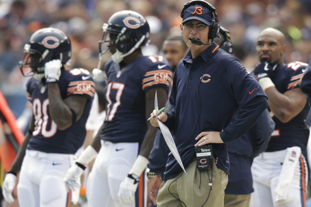 Les Bears de Marc Trestman sont dans une... (Photo Nam Y. Huh, Associated Press)