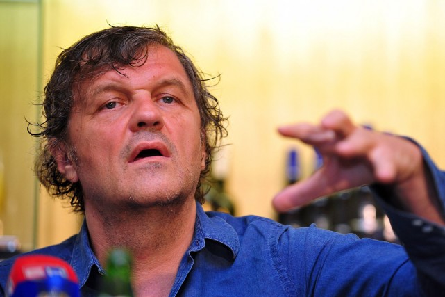 Emir Kusturica... (PHOTO ELVIS BARUKCIC, ARCHIVES AFP)