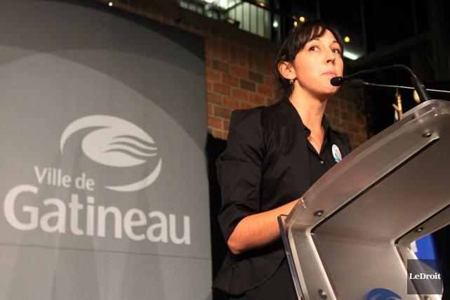 La conseillère Myriam Nadeau.... (Etienne Ranger, LeDroit)