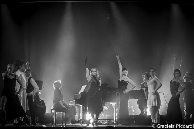 Glamour tango est un spectacle de tango composé... (Photo © Graciela Piccardi)