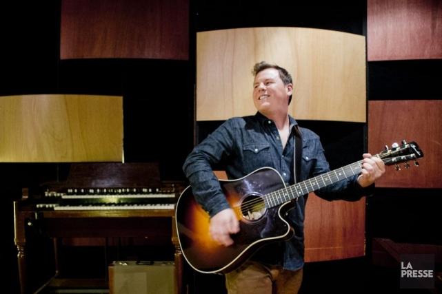 Maxime Landry a écrit la majorité des chansons... (PHOTO MARCO CAMPANOZZI, LA PRESSE)