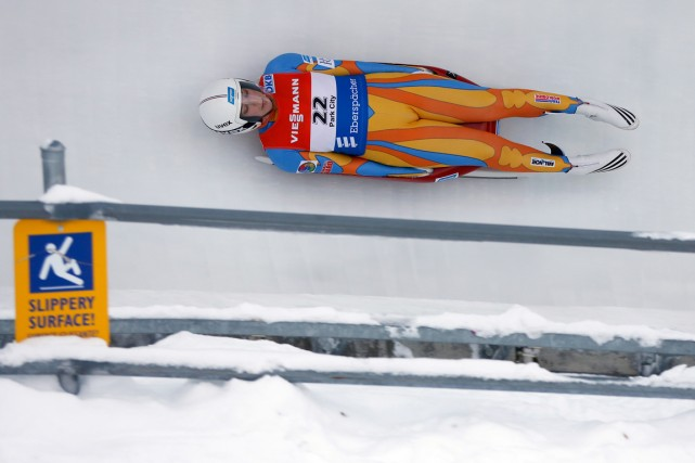 Erin Hamlin... (Photo Jim Urquhart, archives USA TODAY Sports)