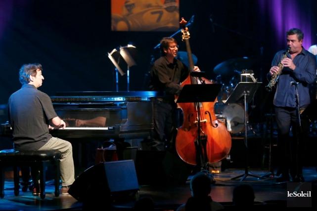 Le pianiste François Bourassa fait partie des musiciens... (Photo Yan Doublet, Archives Le Soleil)