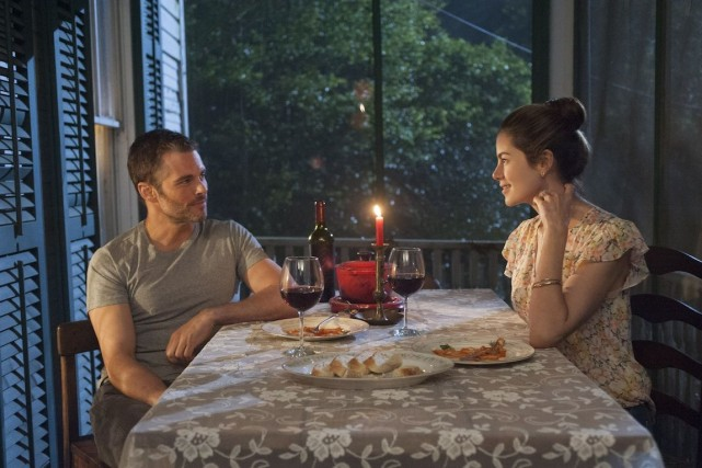 Dans The Best of Me, James Marsden et Michelle... (Photo fournie par Les Films Séville)