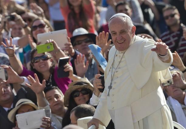 Selon Mgr Lacroix, le pape souhaite que les... (Associated Press)